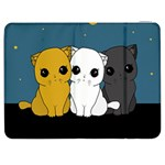 Cute cats Samsung Galaxy Tab 7  P1000 Flip Case