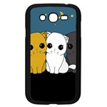 Cute cats Samsung Galaxy Grand DUOS I9082 Case (Black)