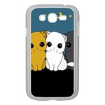 Cute cats Samsung Galaxy Grand DUOS I9082 Case (White)
