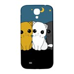 Cute cats Samsung Galaxy S4 I9500/I9505  Hardshell Back Case