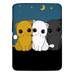 Cute Cats Samsung Galaxy Tab 3 (10 1 ) P5200 Hardshell Case  by Valentinaart