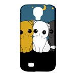 Cute cats Samsung Galaxy S4 Classic Hardshell Case (PC+Silicone)