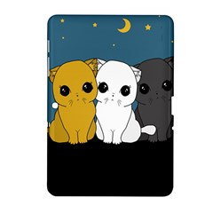 Cute Cats Samsung Galaxy Tab 2 (10 1 ) P5100 Hardshell Case  by Valentinaart