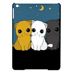 Cute Cats Ipad Air Hardshell Cases by Valentinaart