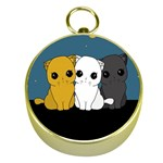 Cute cats Gold Compasses