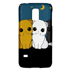 Cute Cats Galaxy S5 Mini by Valentinaart