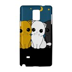 Cute cats Samsung Galaxy Note 4 Hardshell Case