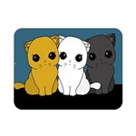 Cute cats Double Sided Flano Blanket (Mini)