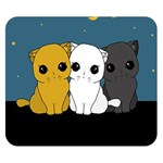 Cute cats Double Sided Flano Blanket (Small)