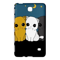 Cute Cats Samsung Galaxy Tab 4 (7 ) Hardshell Case  by Valentinaart