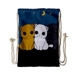 Cute cats Drawstring Bag (Small)