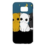 Cute cats Samsung Galaxy S7 Edge Hardshell Case