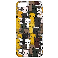 Cute Cats Pattern Apple Iphone 5 Classic Hardshell Case by Valentinaart