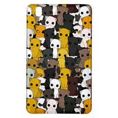 Cute Cats Pattern Samsung Galaxy Tab Pro 8 4 Hardshell Case by Valentinaart