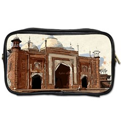 Agra Taj Mahal India Palace Toiletries Bags 2 Side by Zhezhe