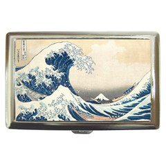 The Classic Japanese Great Wave Off Kanagawa By Hokusai Cigarette Money Cases by PodArtist