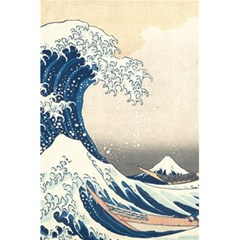 The Classic Japanese Great Wave Off Kanagawa By Hokusai 5 5  X 8 5  Notebooks by PodArtist