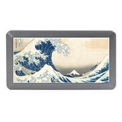 The Classic Japanese Great Wave Off Kanagawa By Hokusai Memory Card Reader (mini)