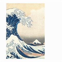 The Classic Japanese Great Wave Off Kanagawa By Hokusai Small Garden Flag (two Sides) by PodArtist