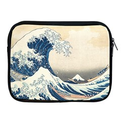 The Classic Japanese Great Wave Off Kanagawa By Hokusai Apple Ipad 2/3/4 Zipper Cases by PodArtist
