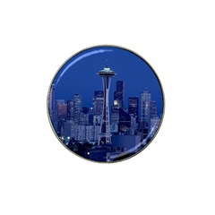 Space Needle Seattle Washington Hat Clip Ball Marker