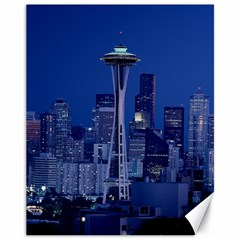 Space Needle Seattle Washington Canvas 11  X 14