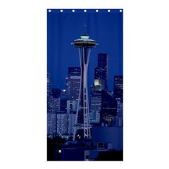 Space Needle Seattle Washington Shower Curtain 36  X 72  (stall)  by Nexatart