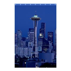 Space Needle Seattle Washington Shower Curtain 48  X 72  (small)