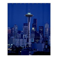 Space Needle Seattle Washington Shower Curtain 60  X 72  (medium)  by Nexatart