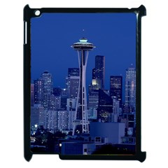 Space Needle Seattle Washington Apple Ipad 2 Case (black)