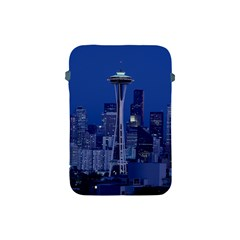Space Needle Seattle Washington Apple Ipad Mini Protective Soft Cases by Nexatart