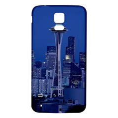 Space Needle Seattle Washington Samsung Galaxy S5 Back Case (white)