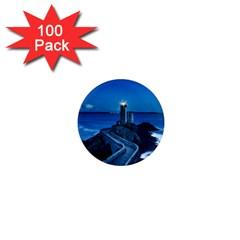 Plouzane France Lighthouse Landmark 1  Mini Magnets (100 Pack)