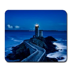 Plouzane France Lighthouse Landmark Large Mousepads