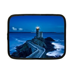 Plouzane France Lighthouse Landmark Netbook Case (small)  by Nexatart