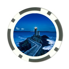 Plouzane France Lighthouse Landmark Poker Chip Card Guard (10 Pack) by Nexatart