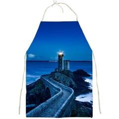 Plouzane France Lighthouse Landmark Full Print Aprons