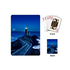 Plouzane France Lighthouse Landmark Playing Cards (mini)