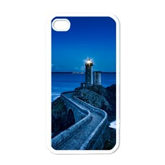 Plouzane France Lighthouse Landmark Apple Iphone 4 Case (white) by Nexatart