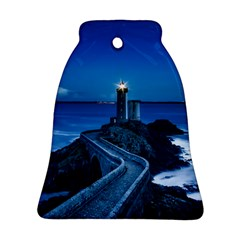 Plouzane France Lighthouse Landmark Ornament (bell) by Nexatart