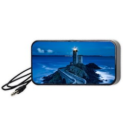 Plouzane France Lighthouse Landmark Portable Speaker (black)