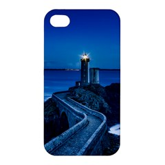 Plouzane France Lighthouse Landmark Apple Iphone 4/4s Hardshell Case by Nexatart