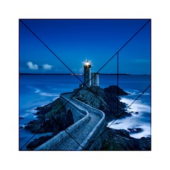 Plouzane France Lighthouse Landmark Acrylic Tangram Puzzle (6  X 6 ) by Nexatart