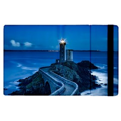 Plouzane France Lighthouse Landmark Apple Ipad 3/4 Flip Case by Nexatart