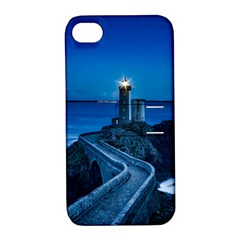 Plouzane France Lighthouse Landmark Apple Iphone 4/4s Hardshell Case With Stand