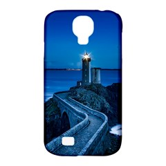 Plouzane France Lighthouse Landmark Samsung Galaxy S4 Classic Hardshell Case (pc+silicone)