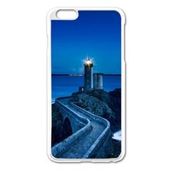 Plouzane France Lighthouse Landmark Apple Iphone 6 Plus/6s Plus Enamel White Case