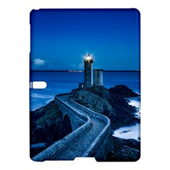 Plouzane France Lighthouse Landmark Samsung Galaxy Tab S (10 5 ) Hardshell Case  by Nexatart