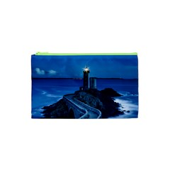 Plouzane France Lighthouse Landmark Cosmetic Bag (xs)