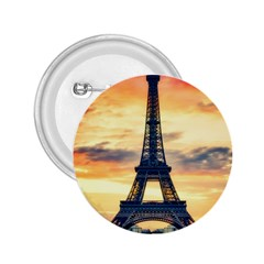 Eiffel Tower Paris France Landmark 2 25  Buttons